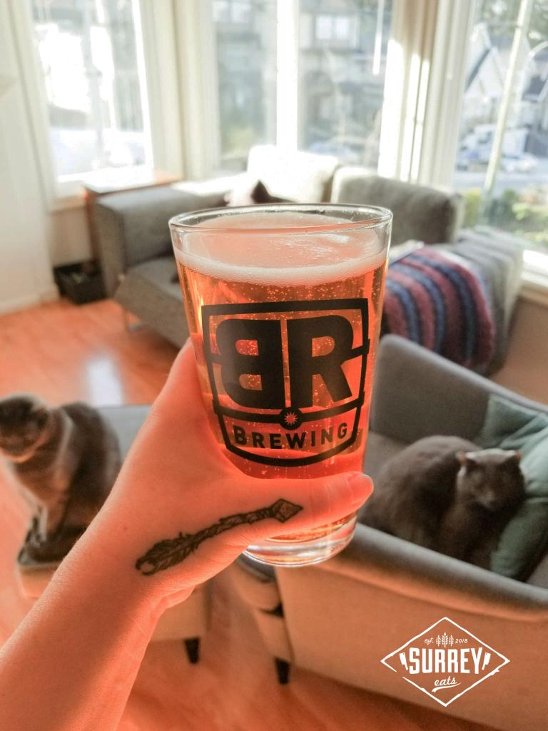 Pint of beer from Big Ridge Brewing