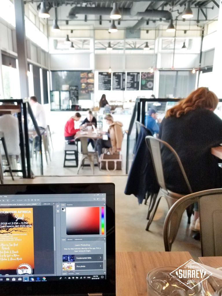 Black Tiger Coffee shop interior