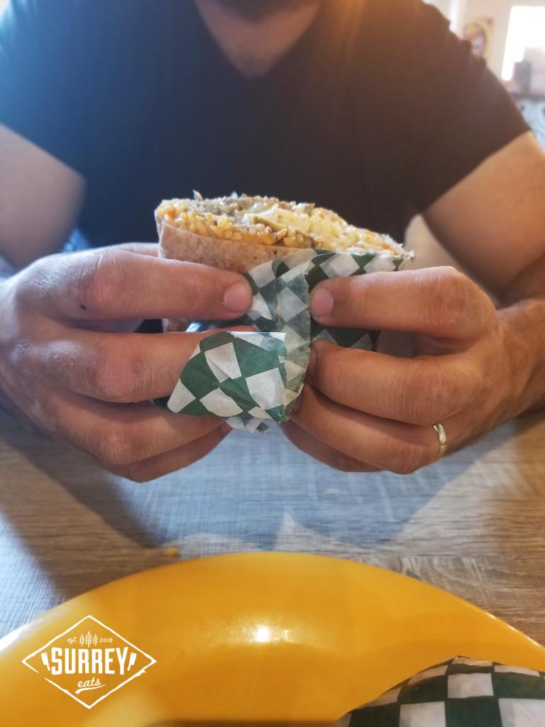 Super Sal y Limo burrito