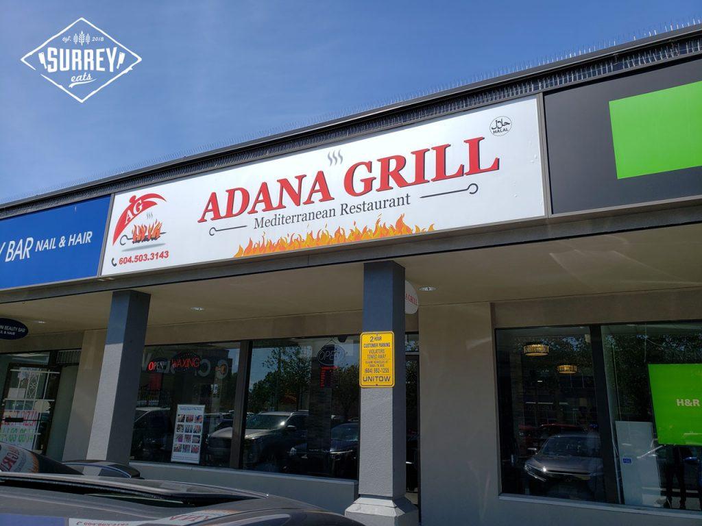 Adana Grill exterior in Newton, Surrey