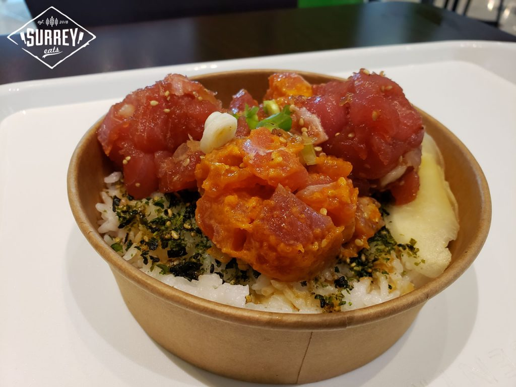 Steve's Traditional Poke Bowl