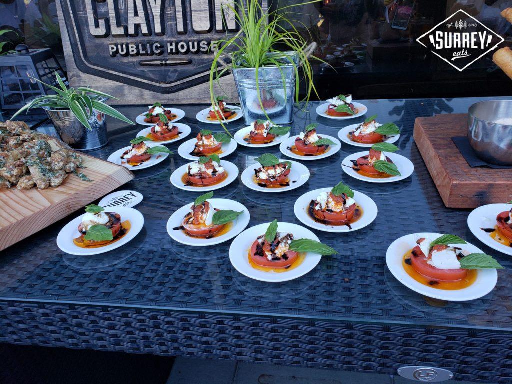 Mini Caprese salads