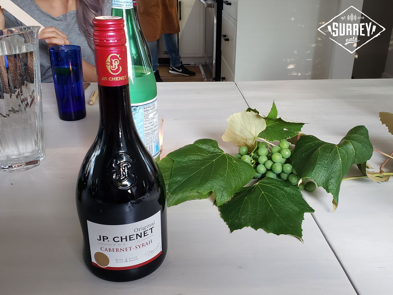 A bottle of JP Chenet Cabernet Syrah