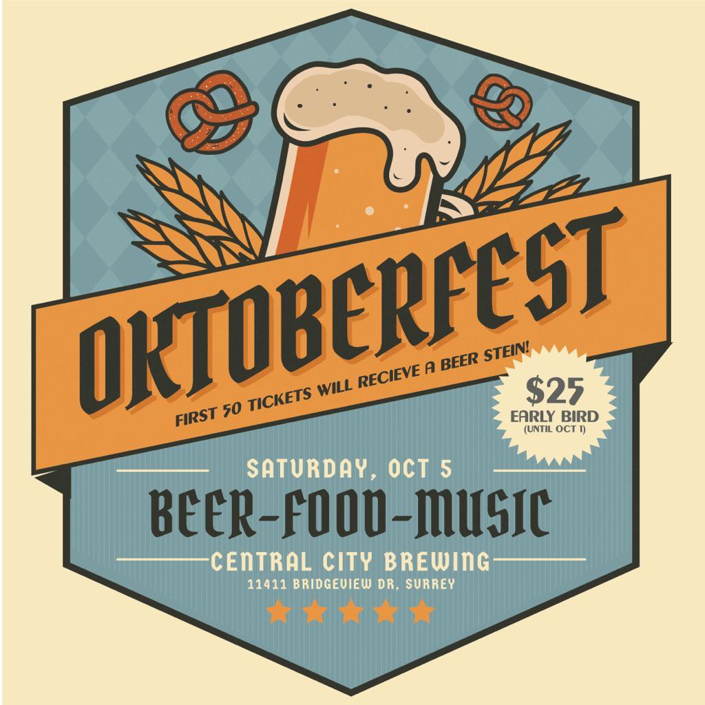 Surrey Eats Oktoberfest Social Flyer