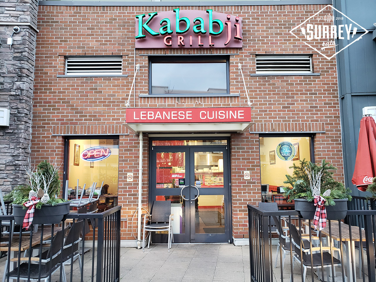 Kababji Grill Lebanese Cuisine in South Surrey at Morgan Crossing