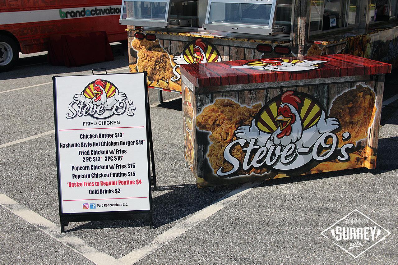 Steve O's food truck