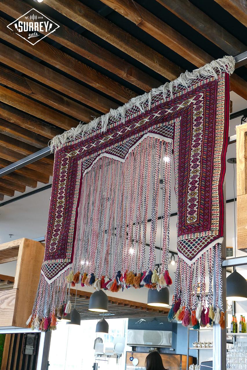 Afghan Kabob decoration hanging