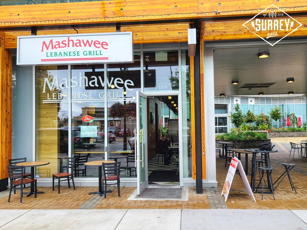 Mashawee Lebanese Grill exterior