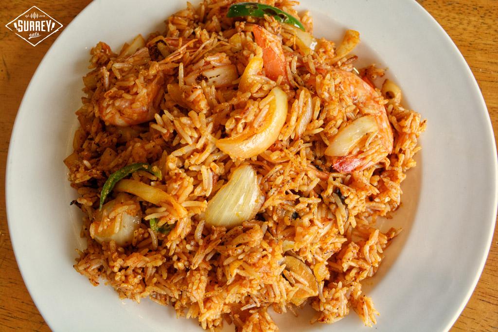 Prawn Tomyam fried rice