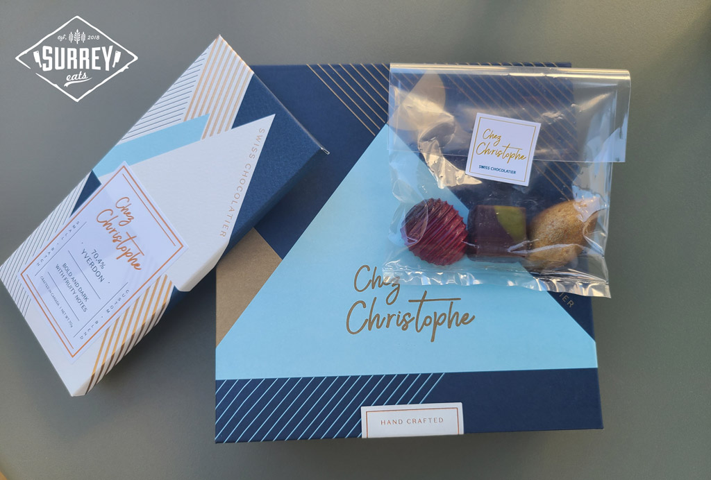 Chez Christophe chocolates